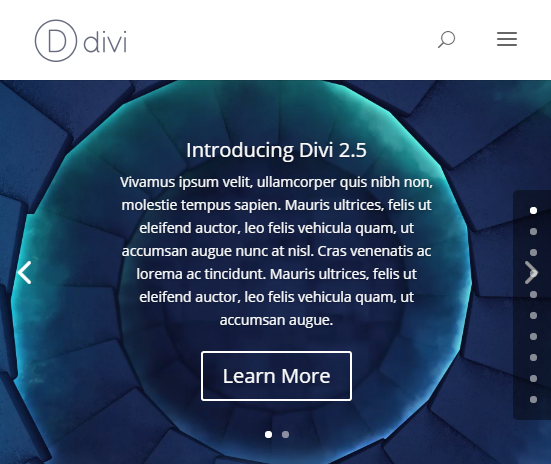 A better mobile menu style for divi divi space - Divi mobile menu ...