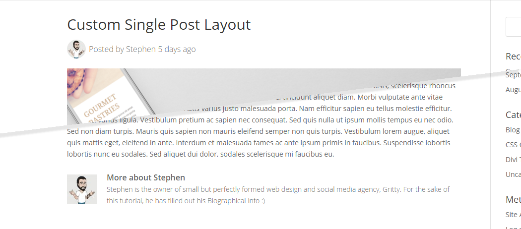 How to create custom single post template for multiple for Wordpress single post page template