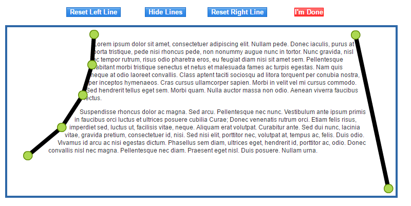 how to add lines on either side of text css