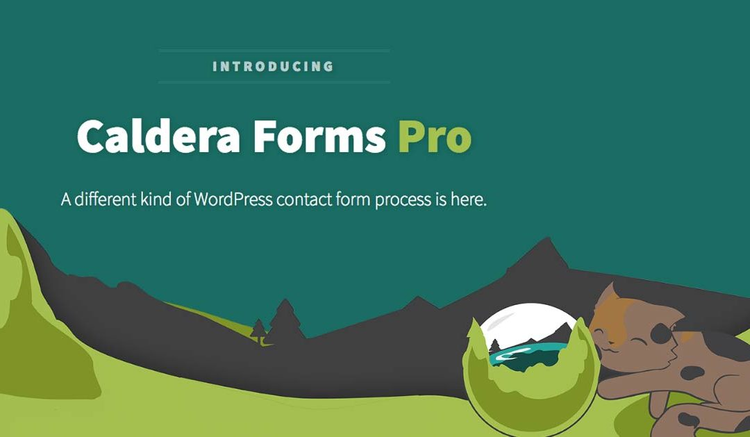 Introducing Caldera Forms Pro from Caldera Labs