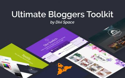 Kick Start Your Blog with the Ultimate Blogger Toolkit for Divi