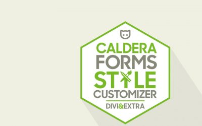 Style Your Divi Website's Forms with the New Caldera Forms Style Customizer Add-On