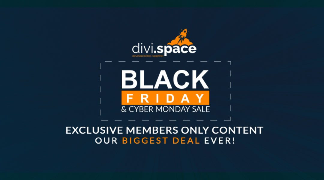Save with our Black Friday – Cyber Monday SALE!