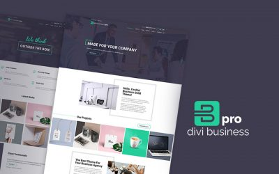 Introducing Our Brand New Divi Child Theme for Business: Divi Business Pro