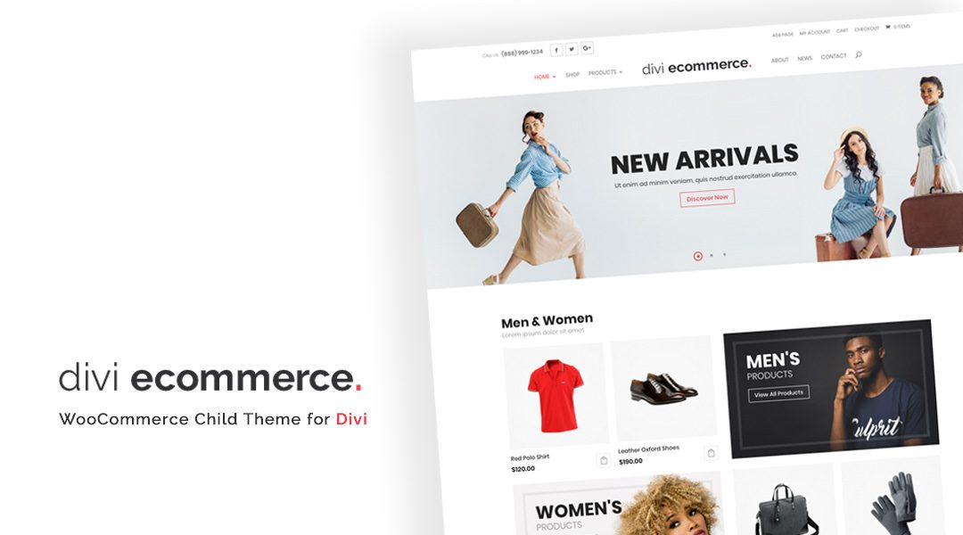 Unveiling our Latest Divi Child Theme: divi ecommerce