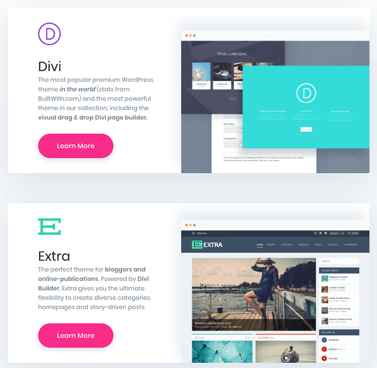 Divi Theme | Divi WordPress Theme Builder by Elegant Themes (2018)