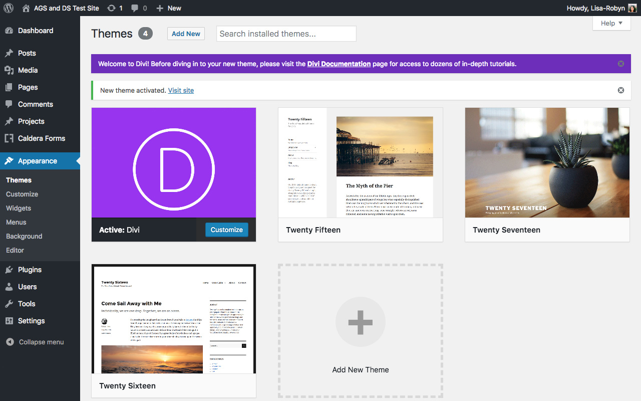 How to Setup and Install the Divi theme on a WordPress Website