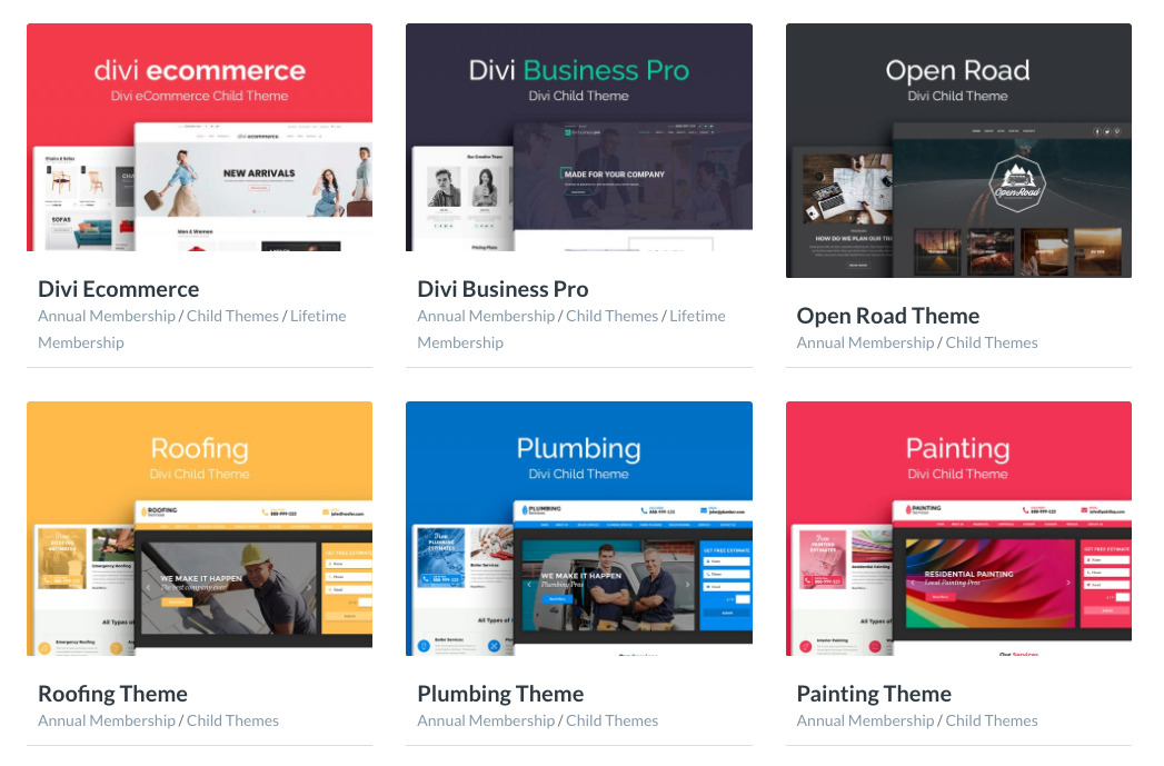 Divi Space Divi Child Themes