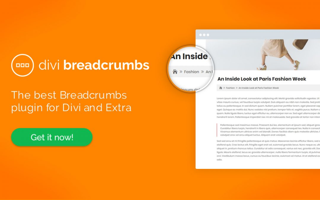 Transform Your Website's User Experience with Our Latest Plugin: Divi Breadcrumbs!