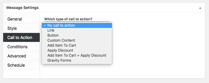 Ahoy Plugin Call to Action
