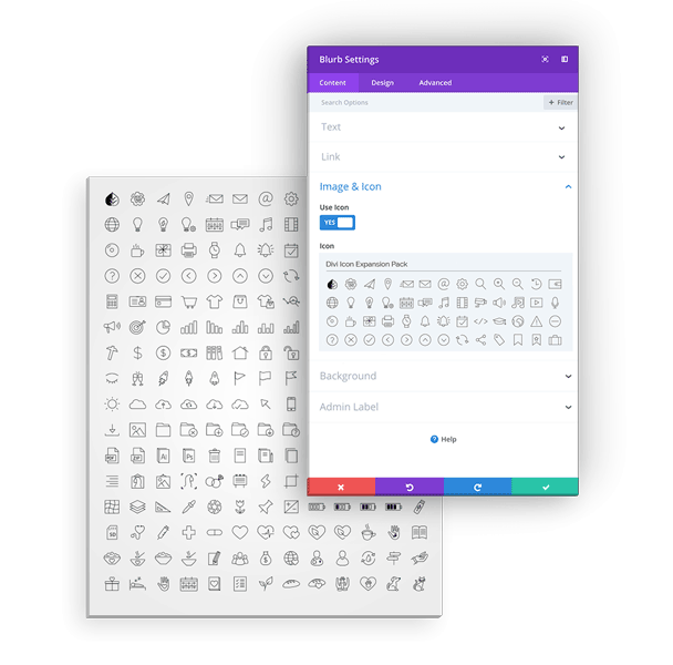 Add 300 Plus Custom Icons to the Divi Theme with the Divi Icon