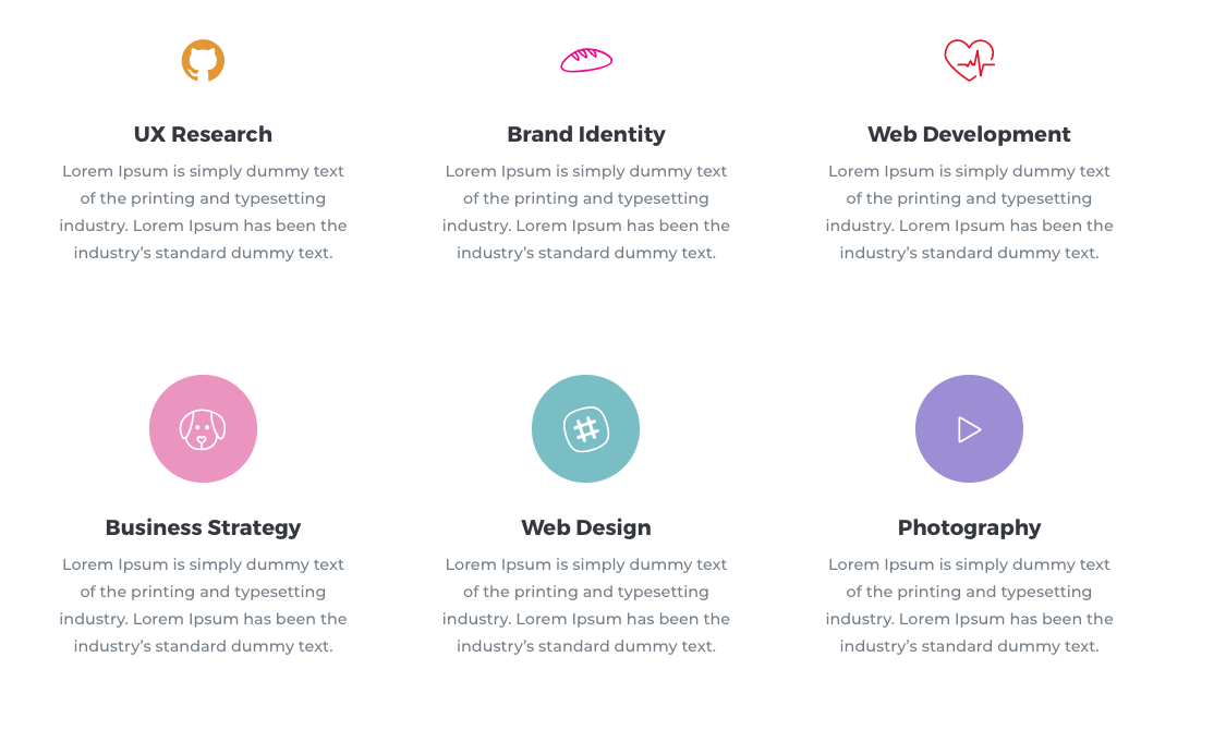 Divi Icon Expansion Pack Layout 3