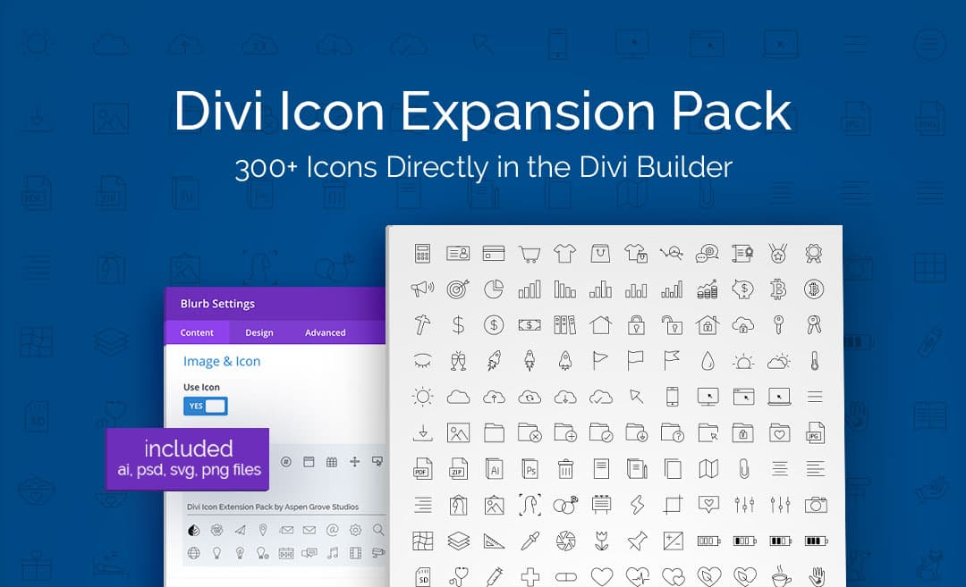 Divi Icon Expansion Pack