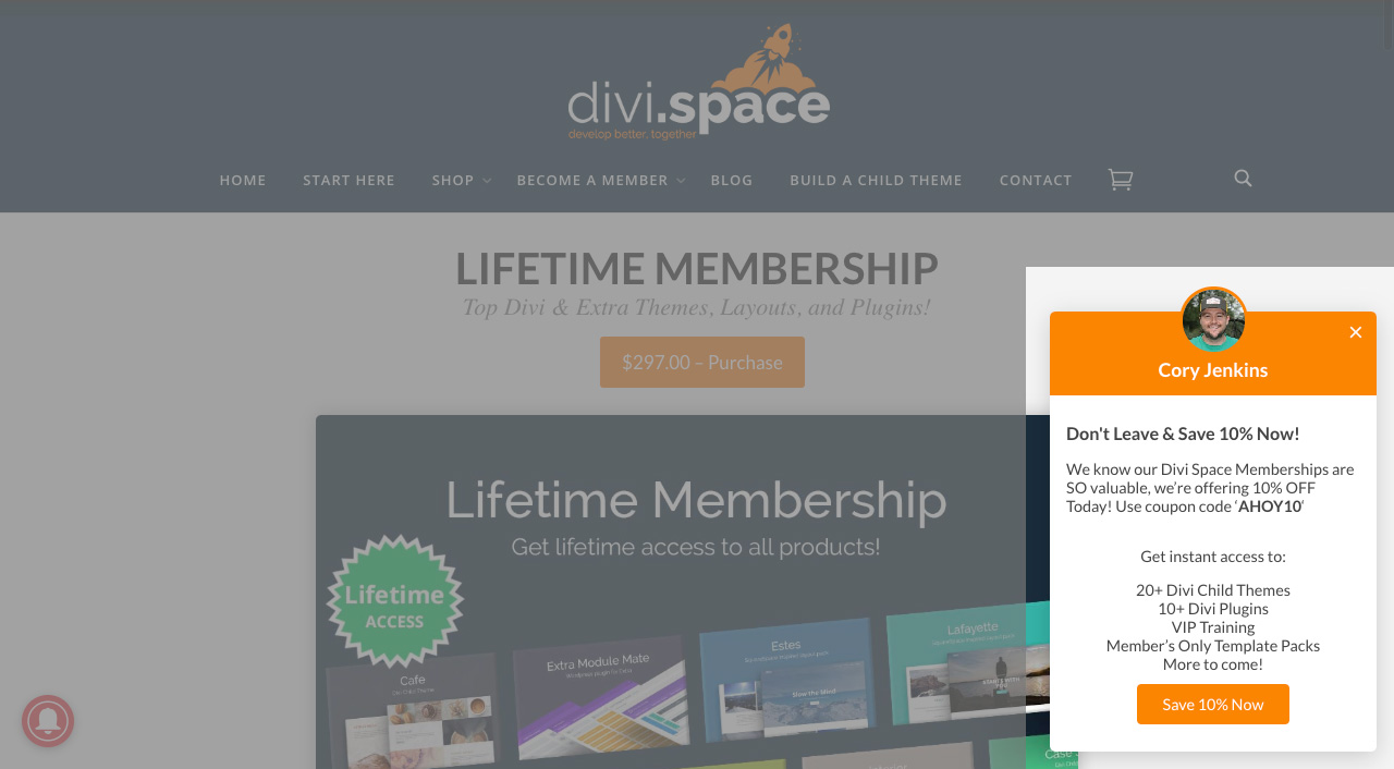 Divi Space Ahoy Plugin Exit Intent