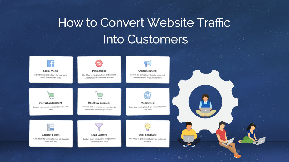 How to Convert Website Traffic Into Customers