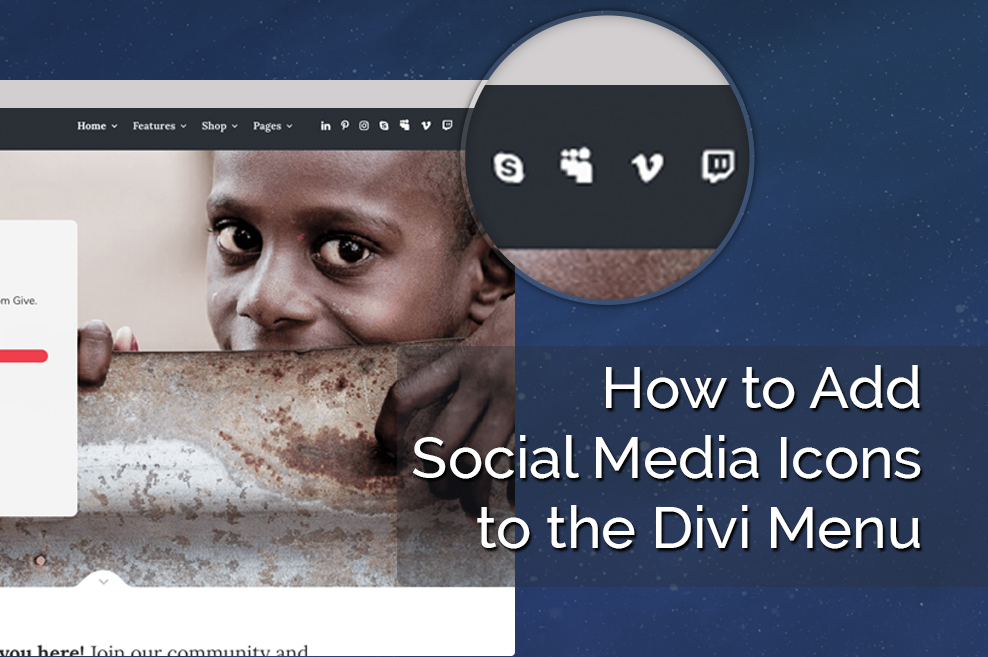 How to Add Social Media Icons to the Divi Menu
