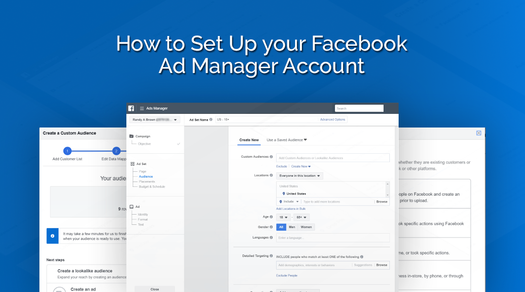 How to Set Up your Facebook Ad Manager Account