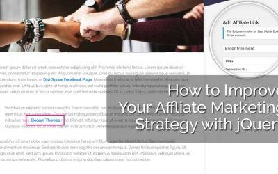 How to Improve Your Affiliate Marketing Strategy with jQuery