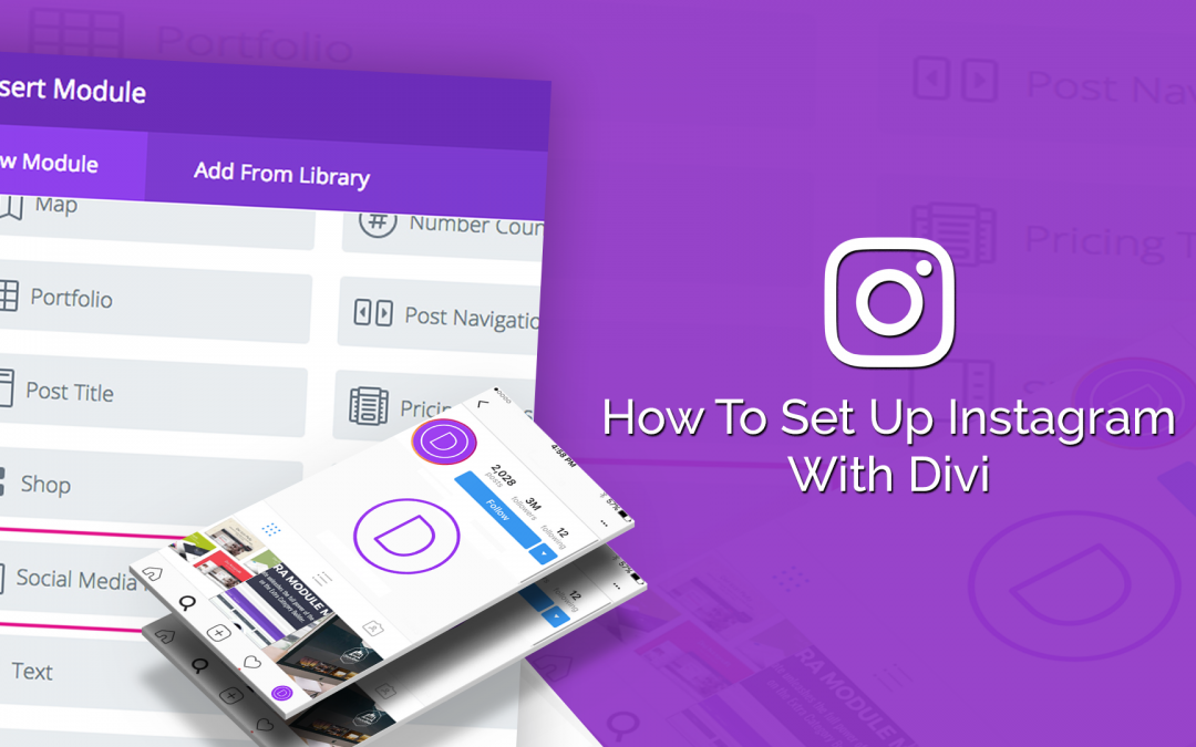 How to Set Up Instagram with Divi