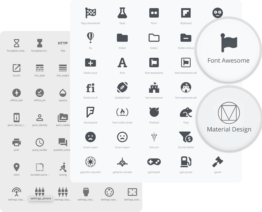 Wp and Divi Icons PRO