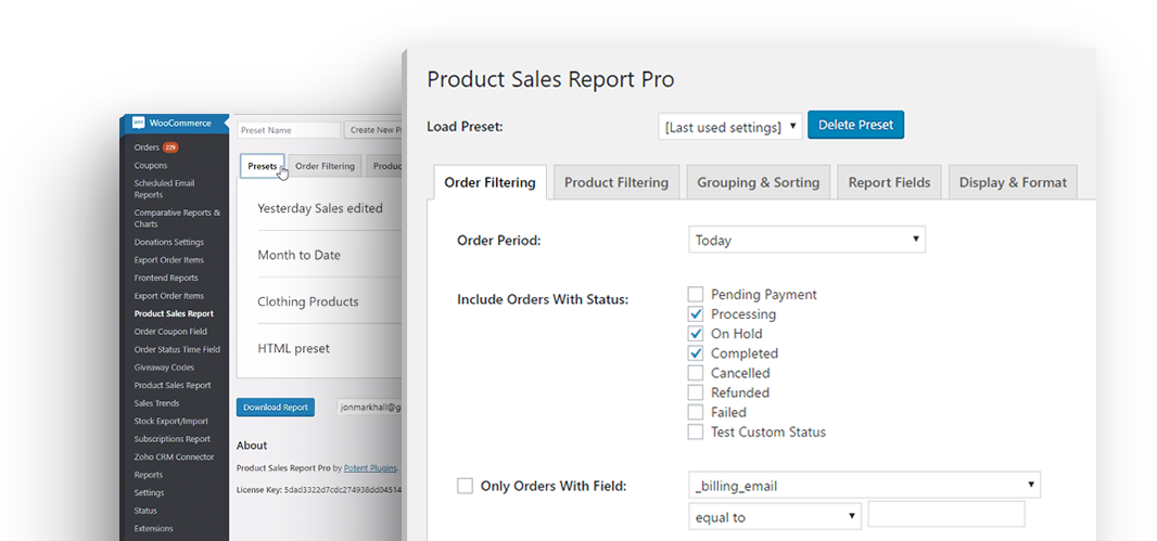 Product Sales Report Pro for WooCommerce | Divi Space