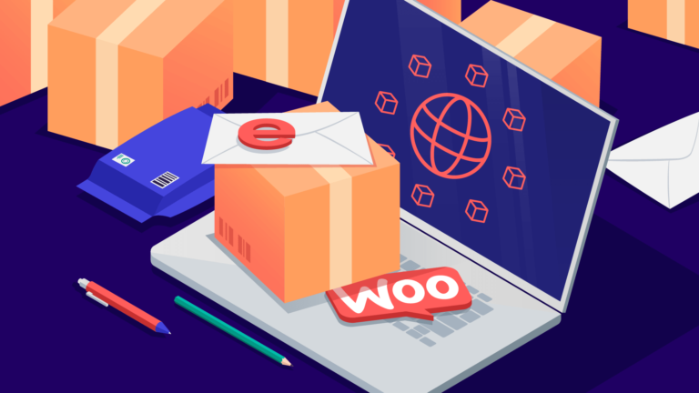 Illustration of WooCommerce shipping