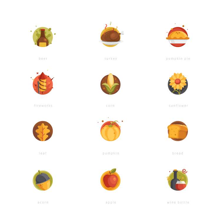thanksgiving_icons_set