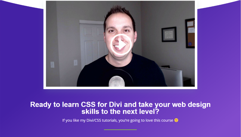 Josh's Divi/CSS Course from Josh Hall