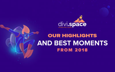 Divi Space: Highlights and Best Moments from 2018