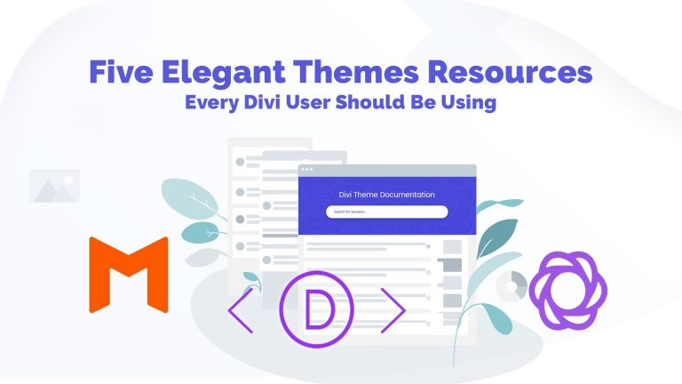 Elegant Themes Resources