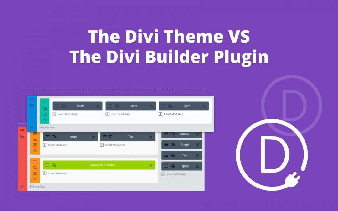 The Divi Theme VS The Divi Builder Plugin