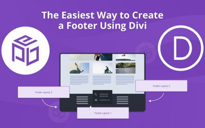 The Easiest Way to Create a Footer Using Divi
