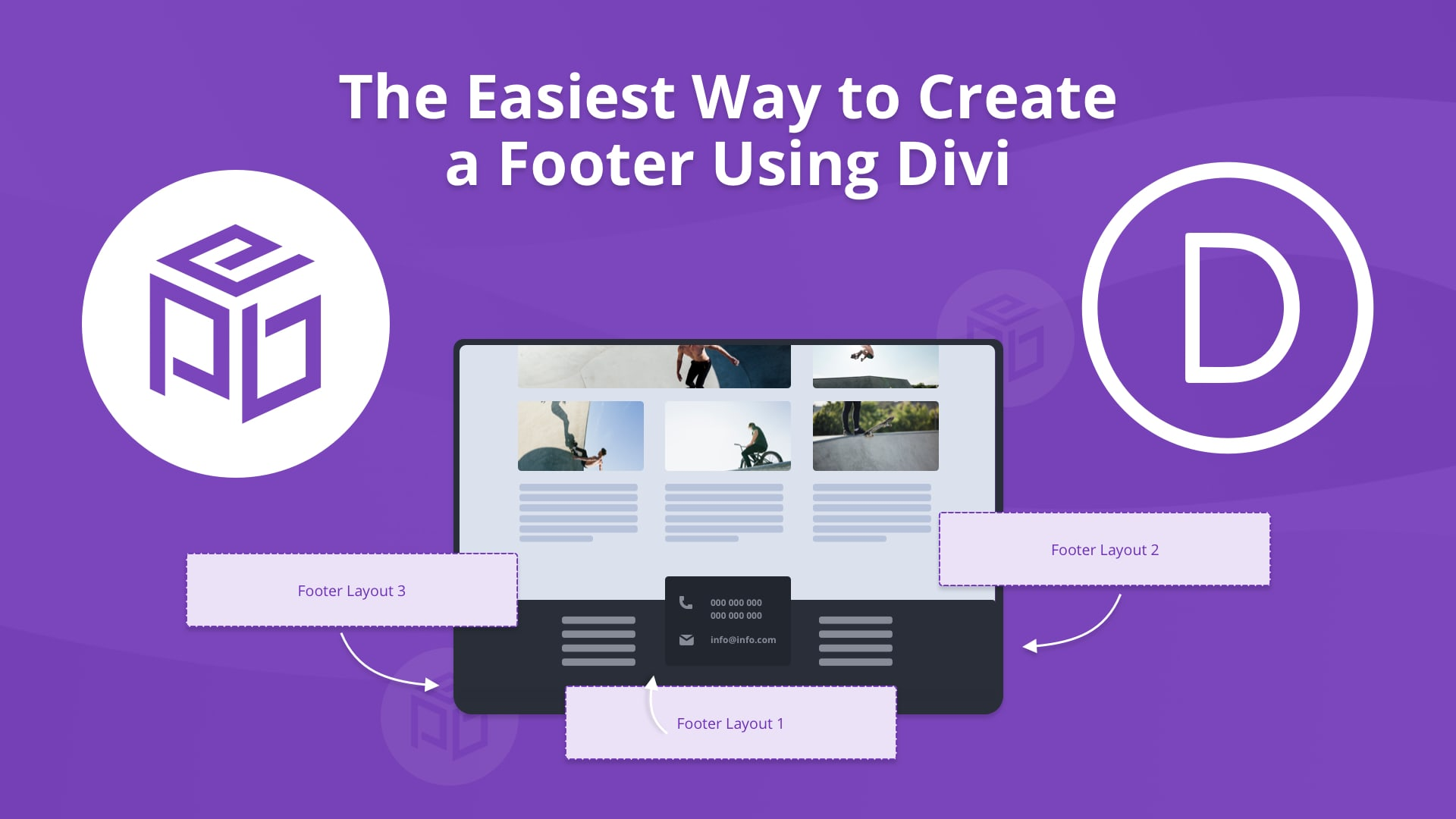 The Easiest Way to Create a Footer Using Divi Divi Theme Tut