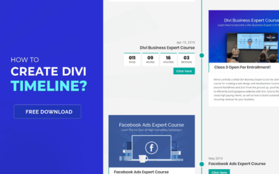 How to Create a Divi Timeline + Free Layout