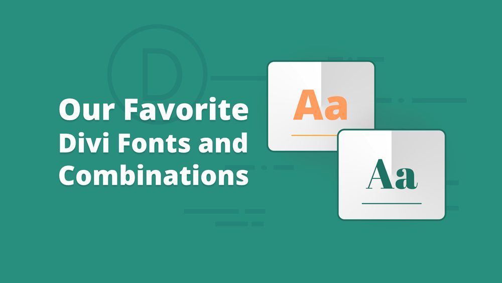 10 Best Font Combinations for Divi Websites