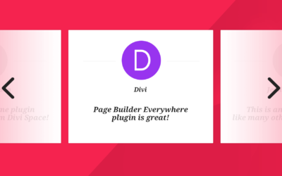 How to Make a Divi Testimonial Slider with Page Builder Everywhere