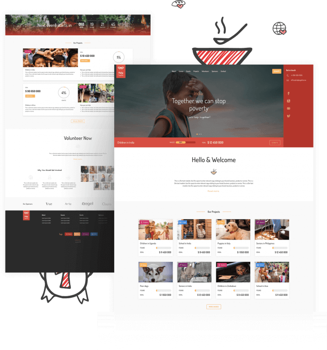 Best Free Divi Layout Packs Nonprofit Layout from Divi Space