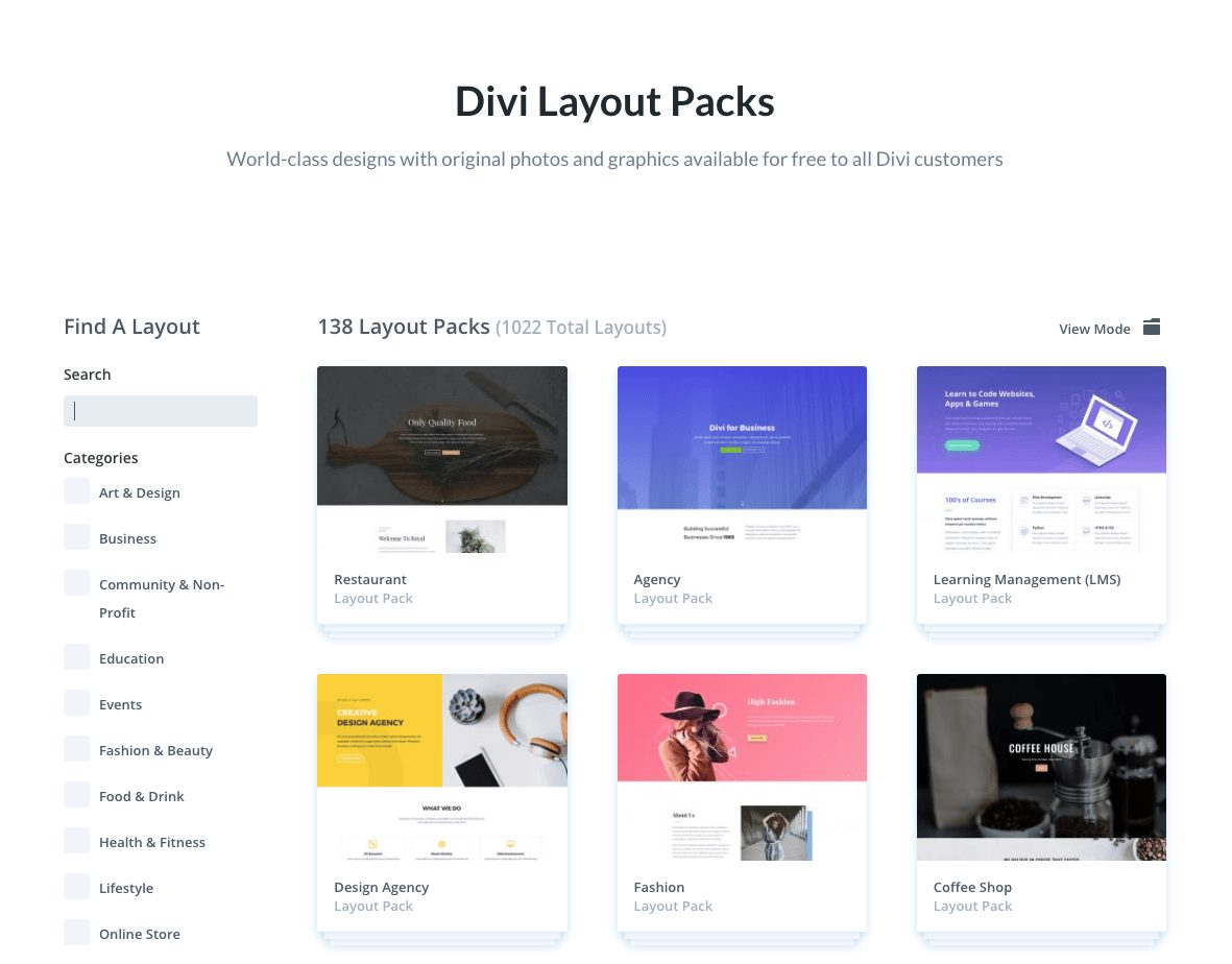 Best Free Divi Layout Packs Elegant Themes Layout Packs