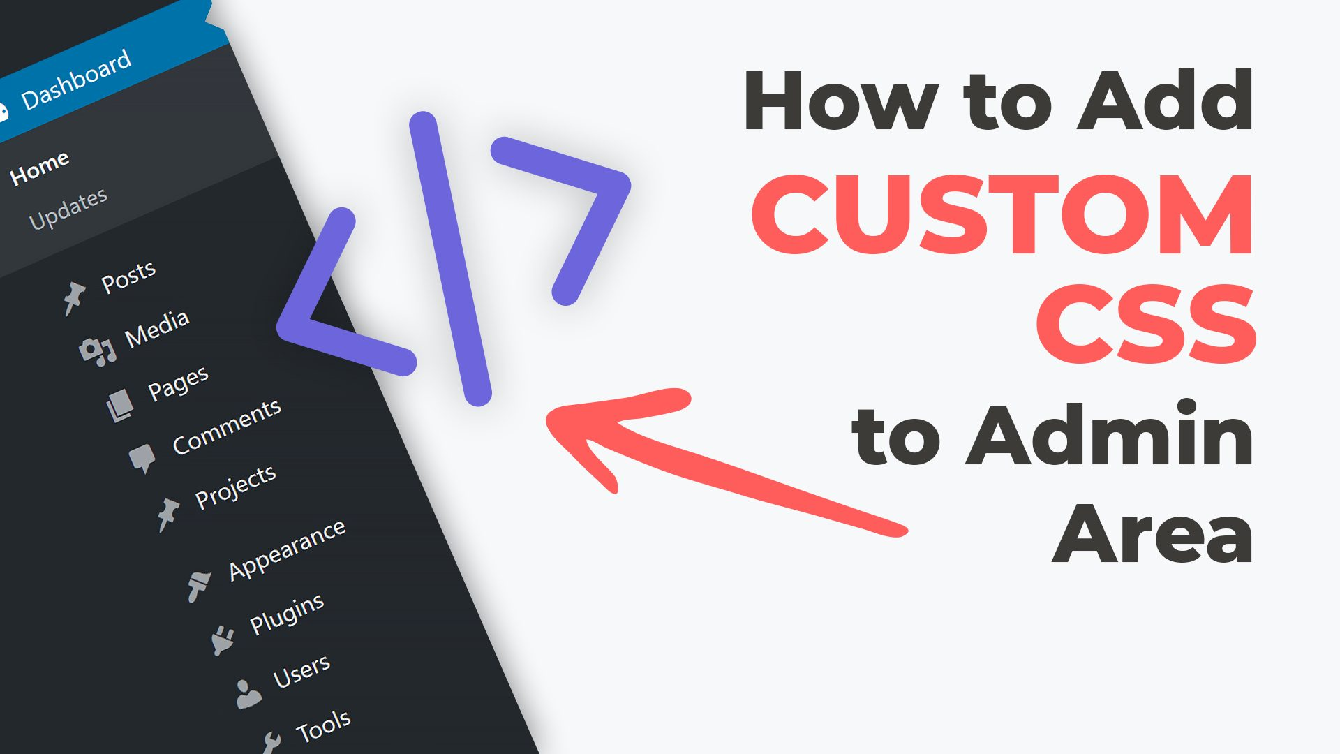 How to Add Custom CSS to Admin Area