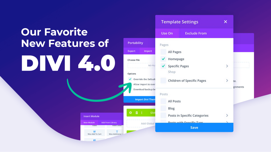 Our Favorite New Features of Divi 4.0
