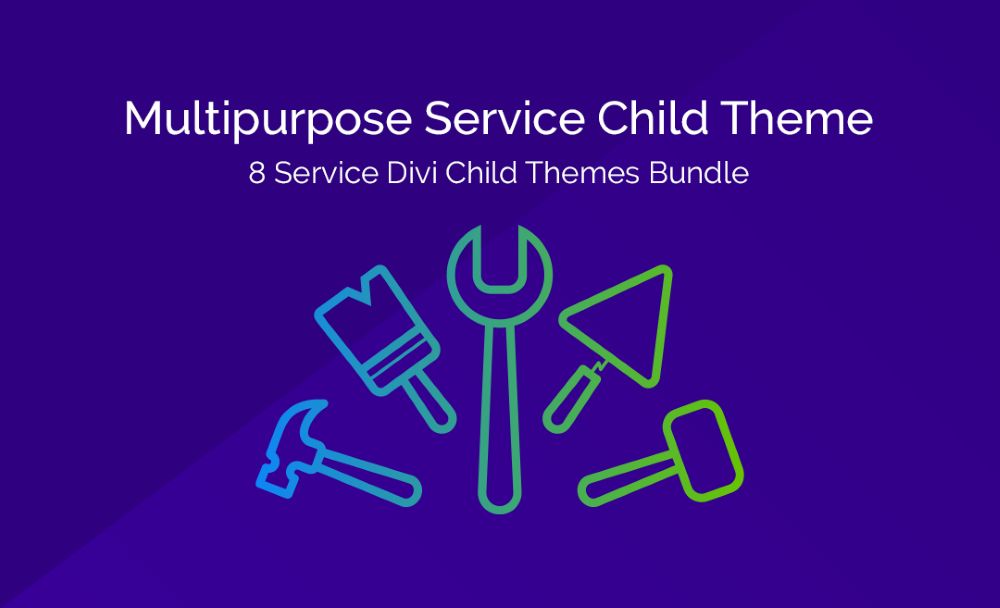 Divi Multipurpose Service Child Theme Features