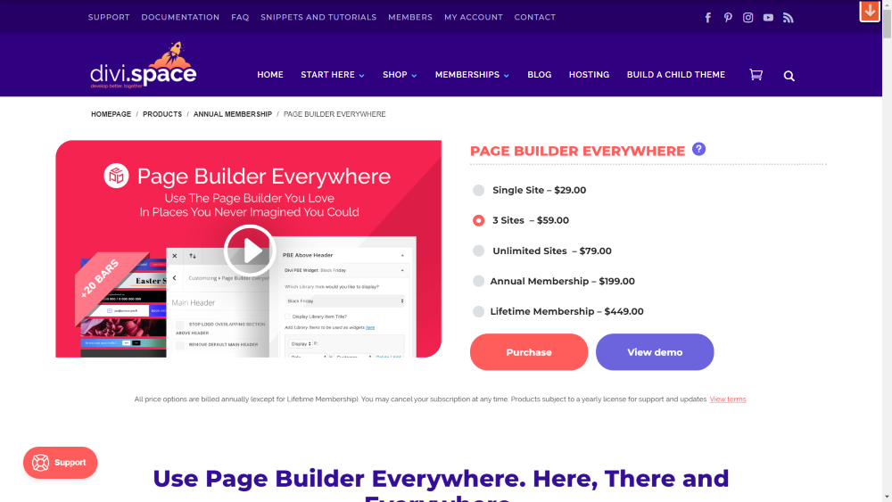 Page Builder Everywhere