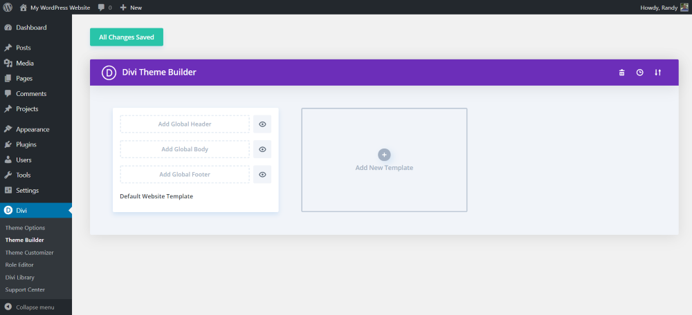 What is the Divi Theme Builder?