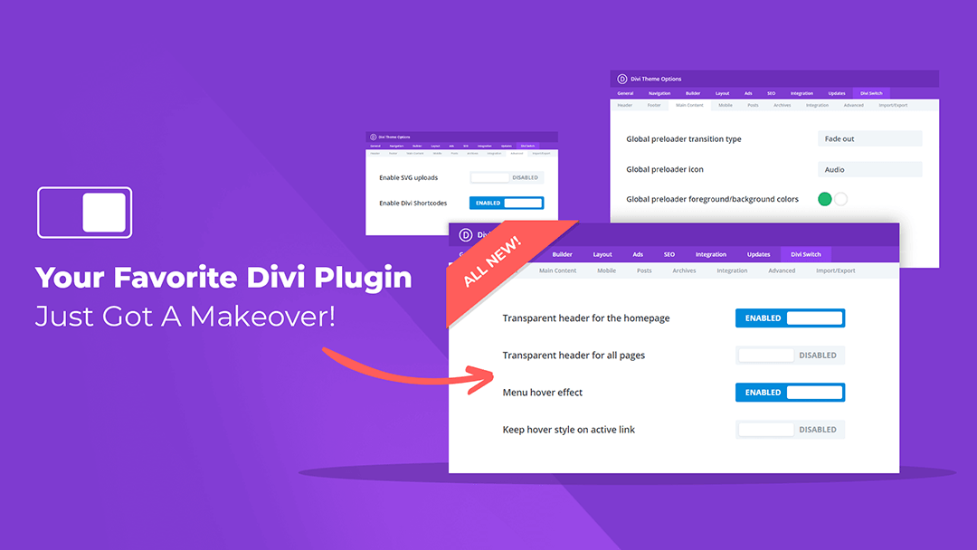 Divi Switch 4.0 is Here!!! Celebrating 100k Downloads