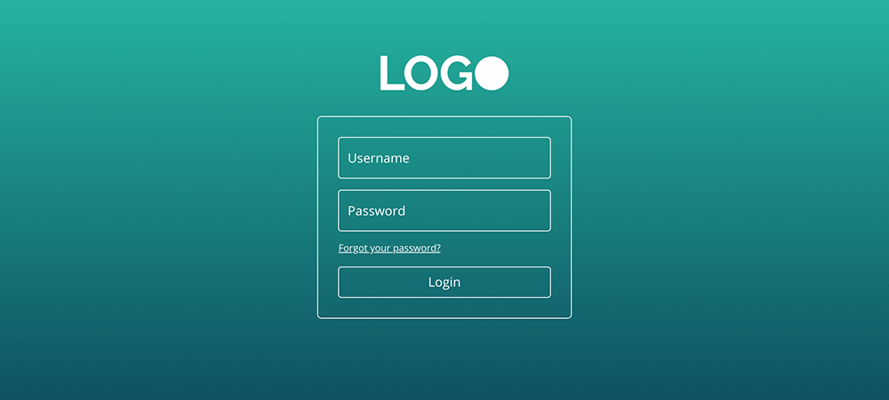 login screen divi