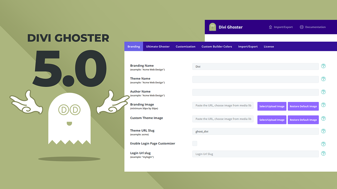 Divi Ghoster 5 Is Live With All-new WordPress White Labeling