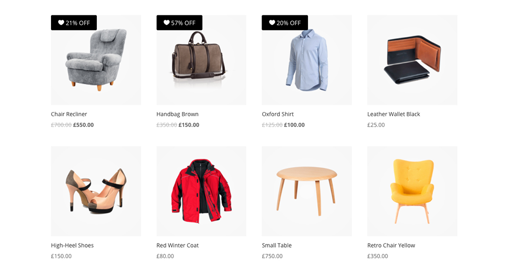 Change WooCommerce Sale Badge to Discount Percentage 2