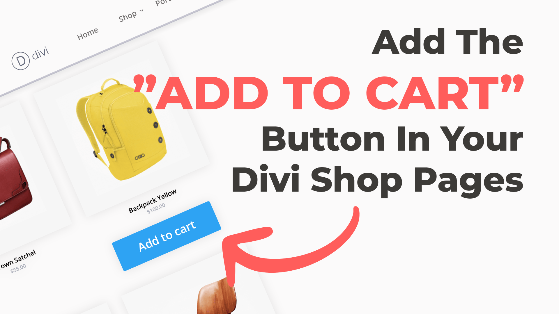 "Add An ""Add To Cart"" Button To A WooCommerce Shop Module"