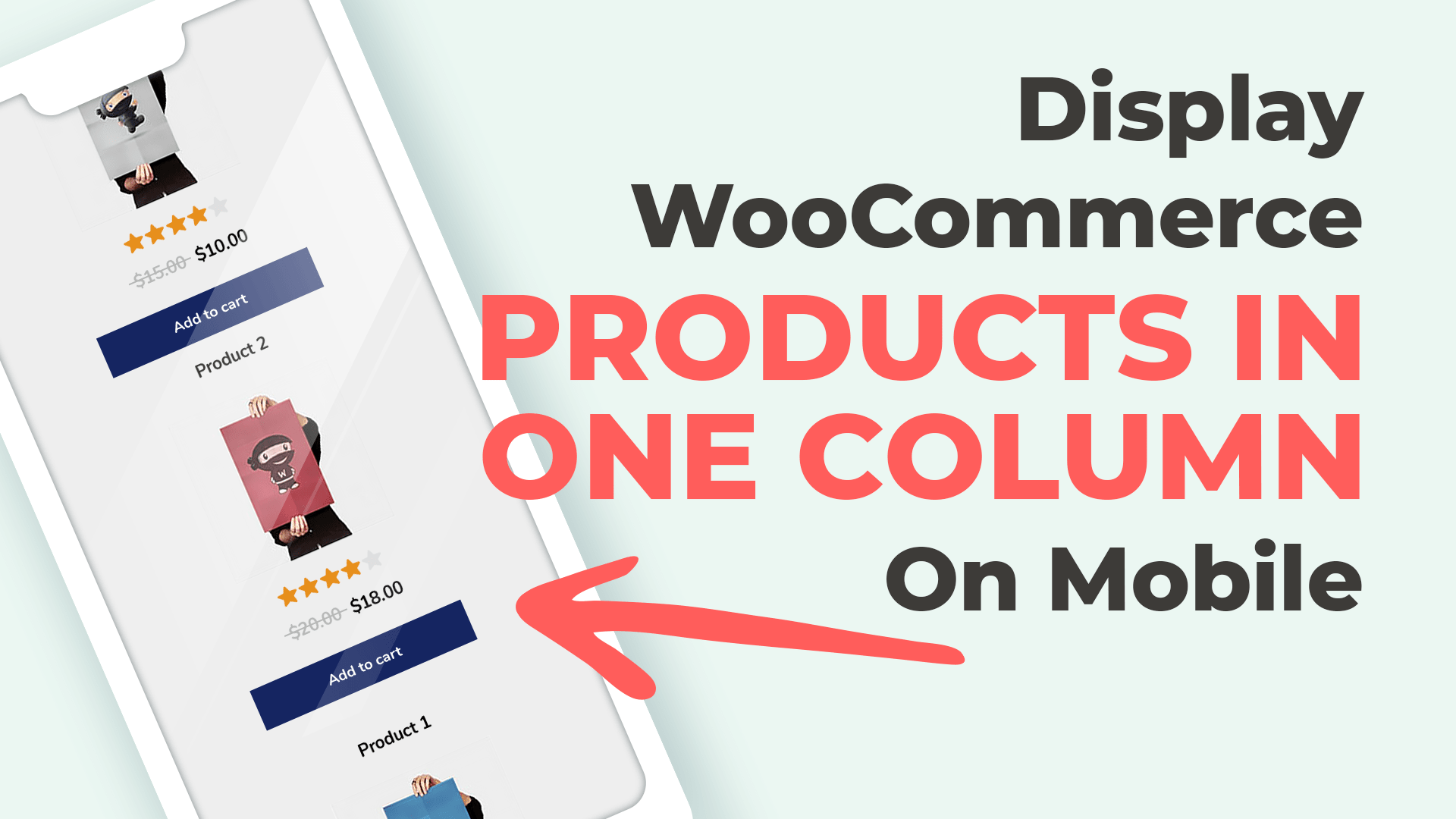 Display WooCommerce Products in Single Column on Mobile Devices