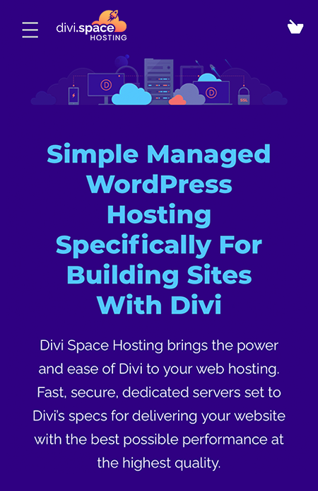 Divi Space Hosting